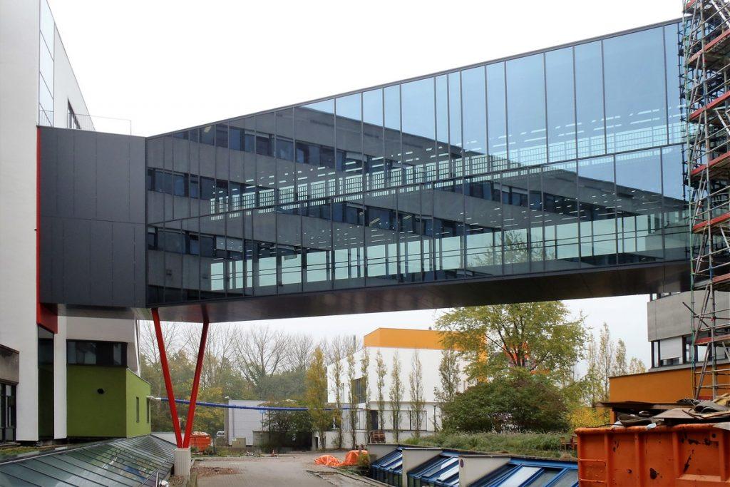 Verbindingsbrug UZ Antwerpen