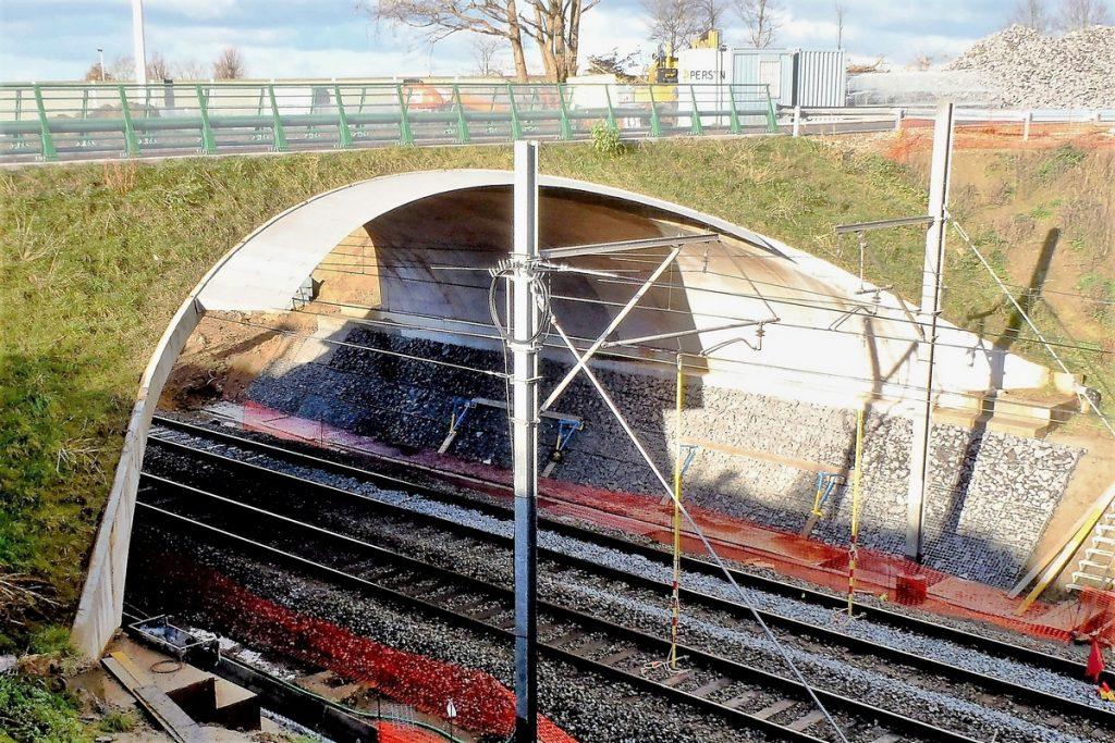 Vier bruggen NMBS lijn Wetteren-Erpe Mere