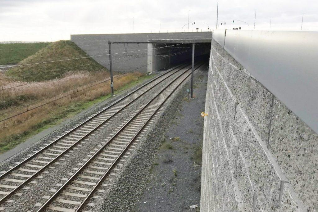 Tunnels K42 op A11 Brugge-Zeebrugge